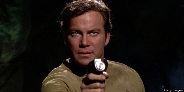LOS ANGELES - FEBRUARY 28: William Shatner as Captain James T. Kirk in the STAR TREK: THE ORIGINAL SERIES episode, 'The Cloud