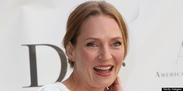NEW YORK, NY - MAY 13:  Uma Thurman attends the 2013 American Ballet Theatre Opening Night Spring Gala at Lincoln Center on M