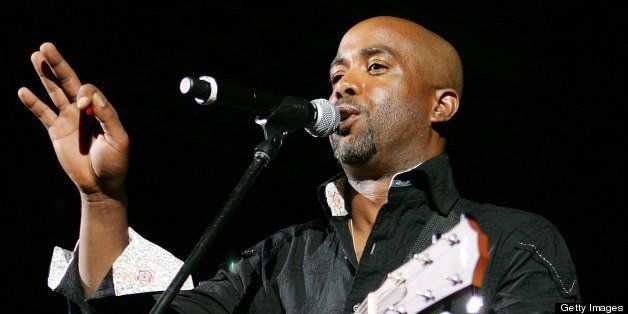 LAS VEGAS - MAY 15:  ***EXCLUSIVE/MINIMUM PRICING*** Music artist Darius Rucker performs during the 42nd Annual Academy Of Co