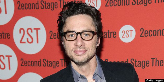 NEW YORK, NY - MAY 20:  Zach Braff attends Second Stage Theatre's Spring Gala at Best Buy Theater on May 20, 2013 in New York