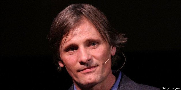 Boston, MA - MARCH 5: Actor Viggo Mortensen is honored at the 2012 Coolidge Award presentation at the Coolidge Theater on Mar