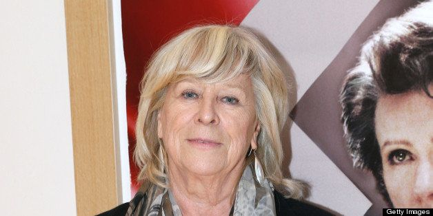 PARIS, FRANCE - APRIL 23: Director Margarethe Von Trotta attends 'Hannah Arendt' Paris movie Premiere, held at Majestic Passy