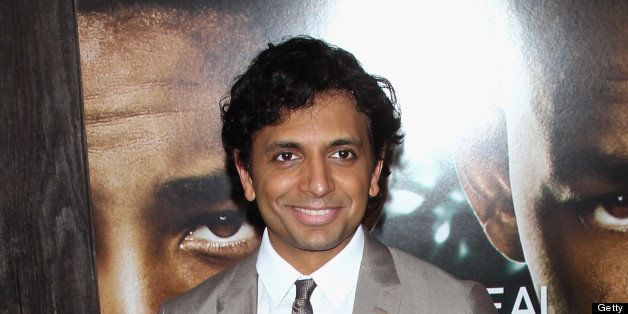 NEW YORK, NY - MAY 29:  Director M. Night Shyamalan attends the 'After Earth' premiere at the Ziegfeld Theater on May 29, 201