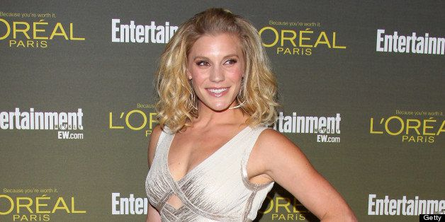 WEST HOLLYWOOD, CA - SEPTEMBER 21: Katee Sackhoff attends the 2012 Entertainment Weekly Pre-Emmy Party at Fig & Olive Melrose