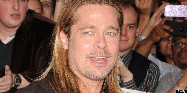 NEW YORK, NY - JUNE 17:  Actor Brad Pitt attends the 'World War Z' New York Premiere on June 17, 2013 in New York City.  (Pho