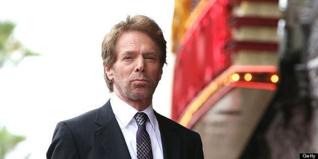 HOLLYWOOD, CA - JUNE 24:  Jerry Bruckheimer is honored on the Hollywood Walk Of Fame on June 24, 2013 in Hollywood, Californi