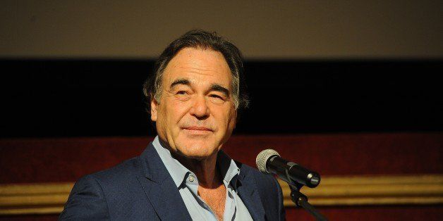 KARLOVY VARY, CZECH REPUBLIC - JULY 3: American film director, screenwriter, producer Oliver Stone attends the presentation o
