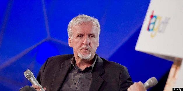 MEXICO CITY, MEXICO - JULY 03:  The director James Cameron during  the first day of the TagDF on July 03, 2013 in Mexico City