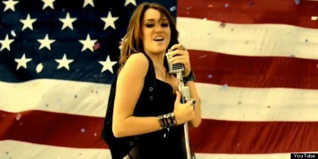 Miley Cyrus' 'Party In The USA' As National Anthem? White