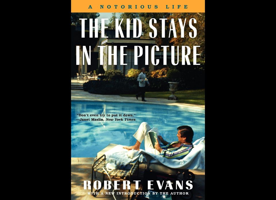 "Evans' memoir, ""The Kid Stays In Picture,"" was recently singled out in Entertainment Weekly as being the No. 3 Hollywood tell"