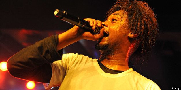 LONDON, UNITED KINGDOM - JUNE 11: Danny Brown performs on stage at Scala on June 11, 2013 in London, England. (Photo by C Bra