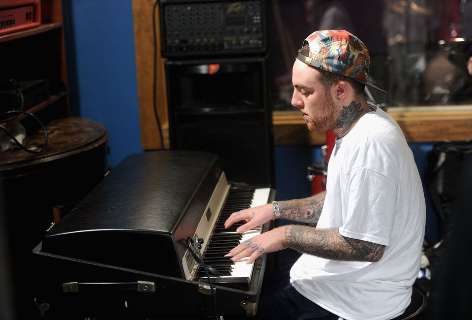 NEW YORK, NY - JULY 17:  MAC Miller performs during Behind The Scenes With MAC Miller Filming Music Choice's 'Take Back Your