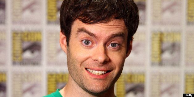 SAN DIEGO, CA - JULY 19:  Actor Bill Hader speaks with Xbox Video at Comic-Con 2013 on July 19, 2013 in San Diego, California