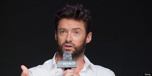 SEOUL, SOUTH KOREA - JULY 15:  Actor Hugh Jackman attends 'The Wolverine' press conference at Grand Hyatt Hotel on July 15, 2