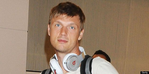 TOKYO, JAPAN - JULY 25:  Nick Carter of the Backstreet Boys is seen upon arrival at Tokyo International Airport on July 25, 2
