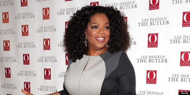 NEW YORK, NY - JULY 31:  Oprah Winfrey attends 'The Butler' screening at Hearst Tower on July 31, 2013 in New York City.  (Ph