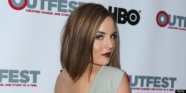 HOLLYWOOD, CA - JULY 21:  Actress / Singer Joanna 'JoJo' Levesque attends the screening of 'G.B.F.' at the 2013 Outfest film