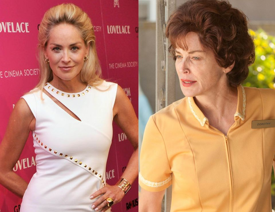 Sharon Stone, 55, looks virtually unrecognizable as the mother of porn star Linda Lovelace. Even Harvey Weinstein, whose Radi