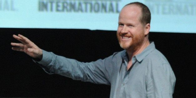 SAN DIEGO, CA - JULY 20:  Director Joss Whedon speaks onstage at Marvel Studios 'Thor: The Dark World' and 'Captain America: