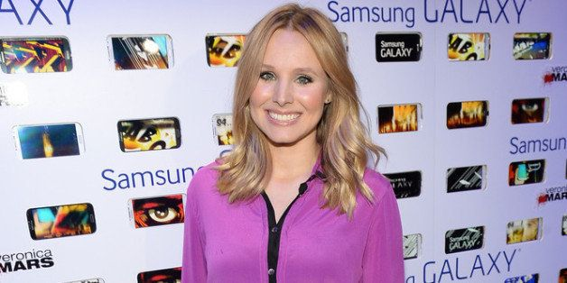 SAN DIEGO, CA - JULY 19:  Actress Kristen Bell attends the after party for Veronica Mars at The Samsung Galaxy Experience on