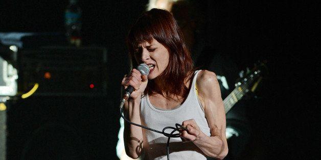 MIAMI BEACH, FL - SEPTEMBER 30: Fiona Apple performs at Fillmore Miami Beach on September 30, 2012 in Miami Beach, Florida. (