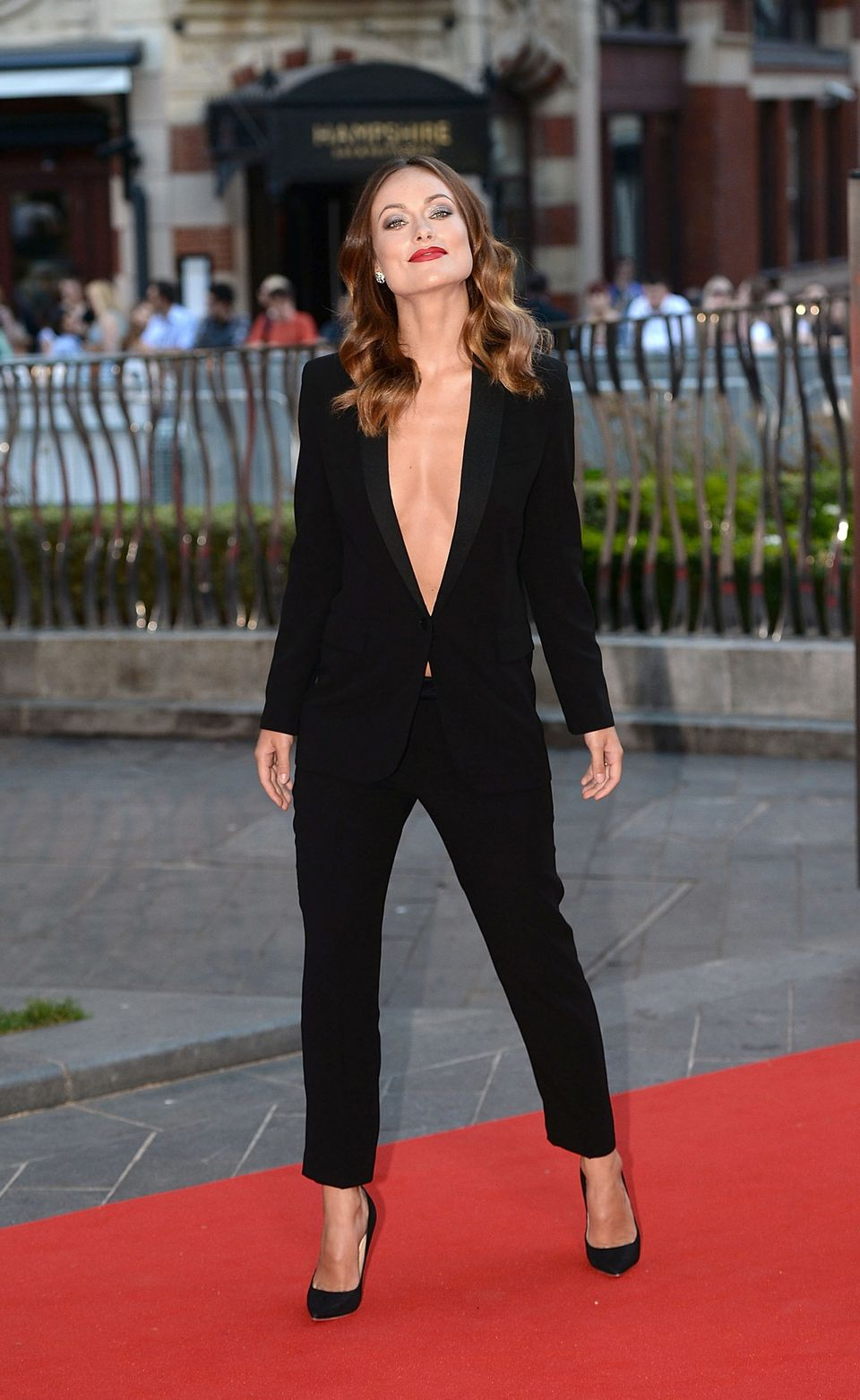 LONDON, ENGLAND - SEPTEMBER 02:  Olivia Wilde attends the 'Rush' World Premiere at Odeon Leicester Square on September 2, 201