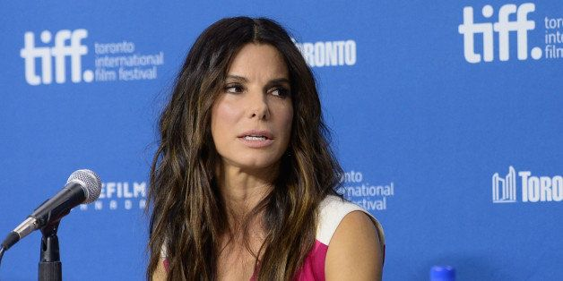 TORONTO, ON - SEPTEMBER 09:  Actress Sandra Bullock speaks onstage at 'Gravity' Press Conference during the 2013 Toronto Inte