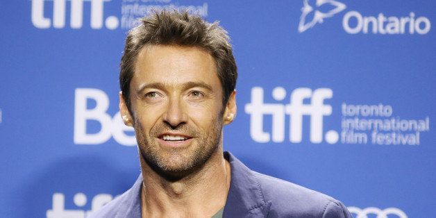 TORONTO, ON - SEPTEMBER 07:  Hugh Jackman attends the 'Prisoners' press conference during the 2013 Toronto International Film