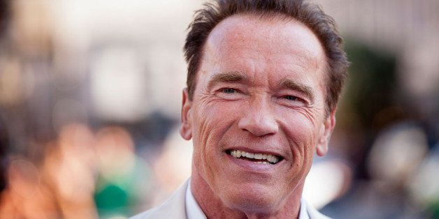 SAN DIEGO, CA - JULY 18:  Arnold Schwarzenegger arrives for the 'Escape Plan' Premiere - Comic-Con International 2013 at Read