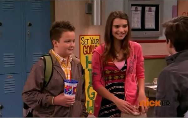 "But before she graced the cover of Treats!, Ratajkowski donned a good-girl image on the Nickelodeon series ""iCarly."" She play"