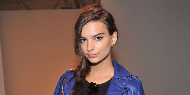 NEW YORK, NY - SEPTEMBER 08: Model Emily Ratajkowski attends the Jeremy Laing show during Spring 2014 Mercedes-Benz Fashion Week at on September 8, 2013 in New York City. (Photo by Henry S. Dziekan III/WireImage)