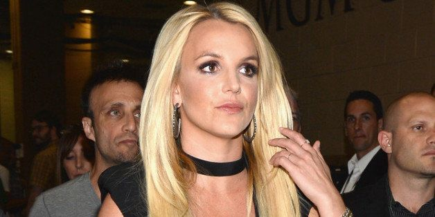 LAS VEGAS, NV - SEPTEMBER 21:  Entertainer Britney Spears attends the iHeartRadio Music Festival at the MGM Grand Garden Aren