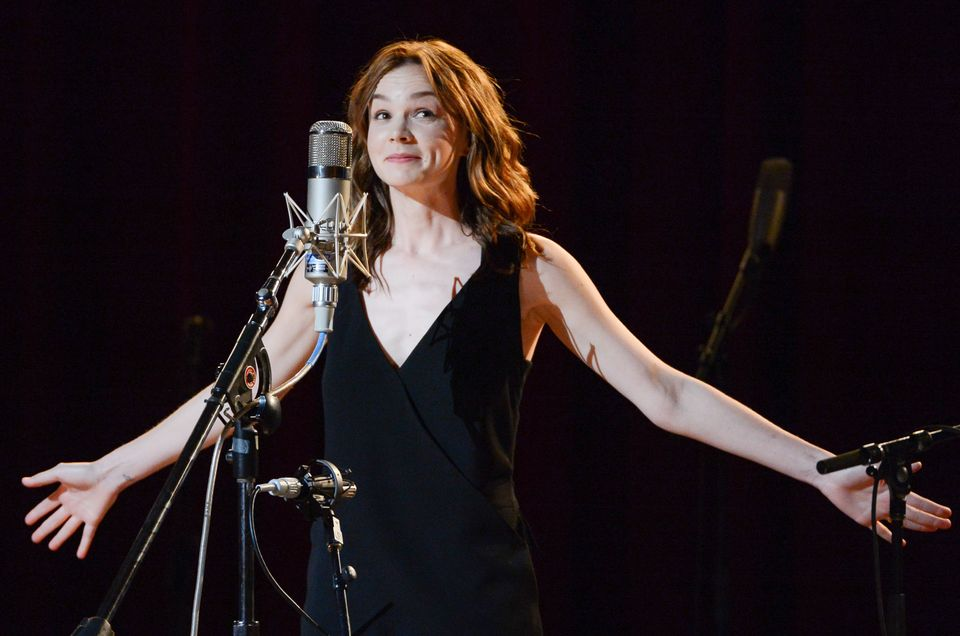 """Actress Carey Mulligan performs at """"Another Day, Another Time: Celebrating the Music of Inside Llewyn Davis"""" at The Town Hall"""