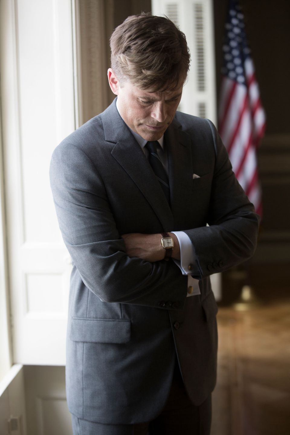 "Rob Lowe stars in ""Killing Kennedy."""