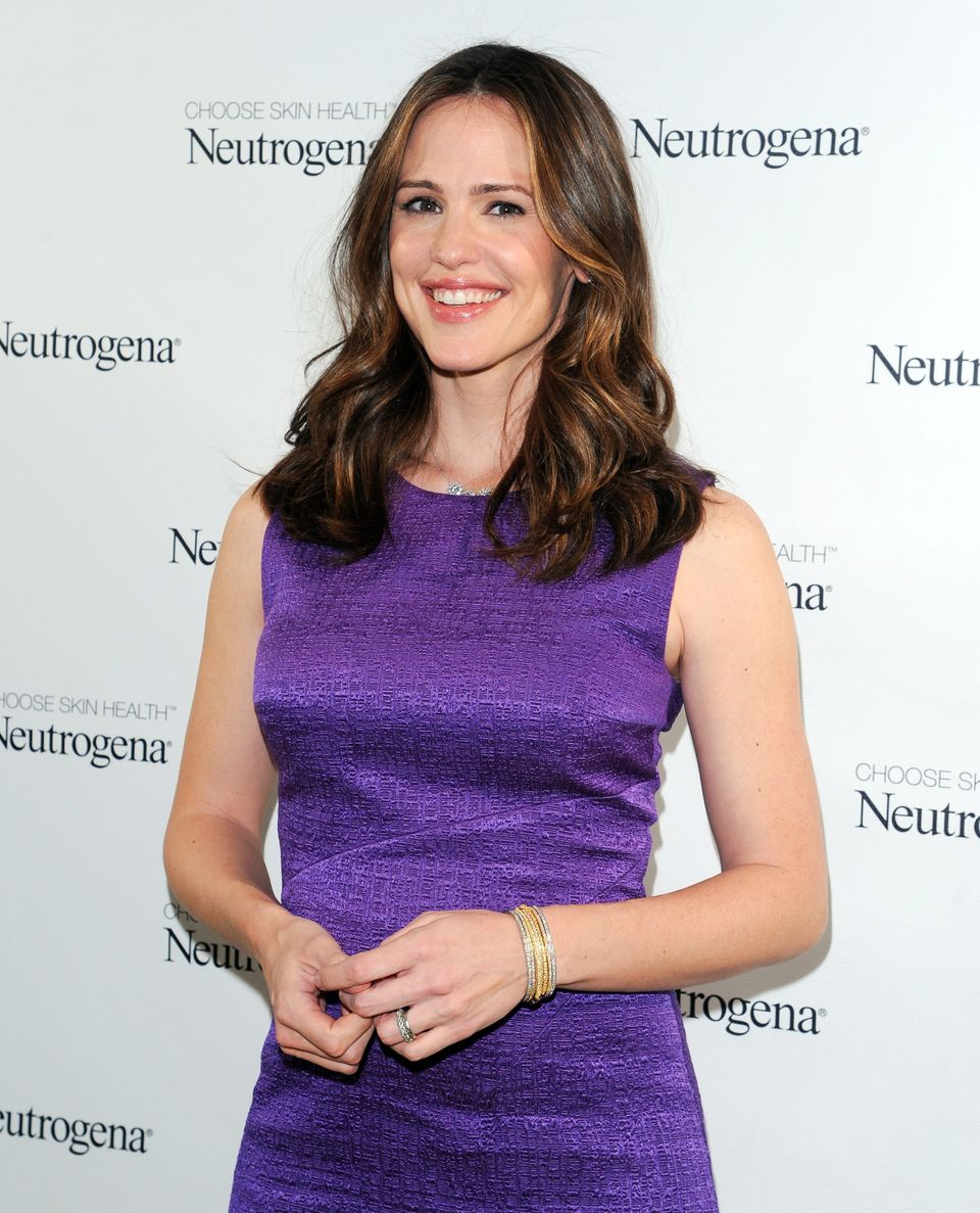 Neutrogena brand ambassador and actress Jennifer Garner attends the 2013 Neutrogena Sun Summit at the Chelsea Arts Tower on W