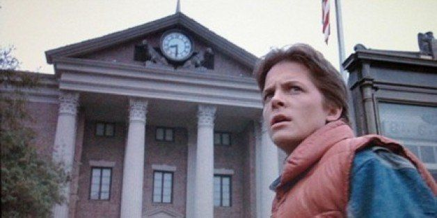 Image result for back to the future clock tower