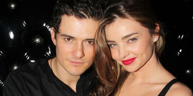NEW YORK, NY - SEPTEMBER 19:  (EXCLUSIVE COVERAGE)  Orlando Bloom and wife Miranda Kerr attend the after party for the Broadw