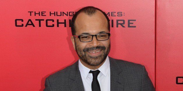 Actor Jeffrey Wright arrives at a special screening of 'The Hunger Games: Catching Fire' November 20, 2013 in New York.  AFP
