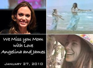 Angelina Jolie & Brother James' Video Tribute To Their