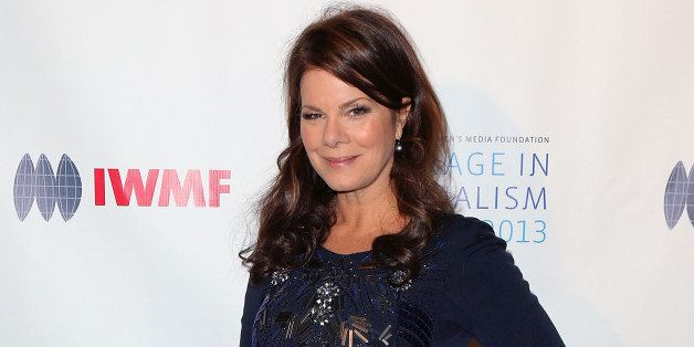 BEVERLY HILLS, CA - OCTOBER 29:  Actress Marcia Gay Harden attends the IWMF Courage in Journalism Awards 2013 at the Beverly