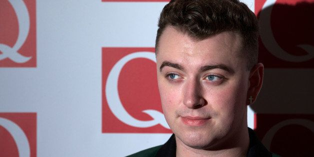 British singer-songwriter Sam Smith attends The Q Awards 2013 in central London on October 21, 2013. AFP PHOTO/ANDREW COWIE