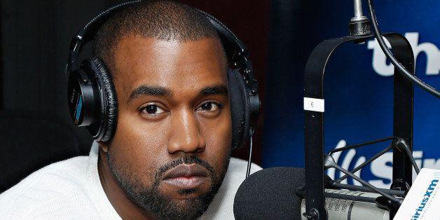 NEW YORK, NY - NOVEMBER 26:  Recording artist Kanye West visits SiriusXM's 'The Heat' at the SiriusXM Studios on November 26,