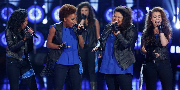 THE SING-OFF -- Episode 404 -- Pictured: Vocal Rush -- (Photo by: Greg Gayne/NBC/NBCU Photo Bank via Getty Images)
