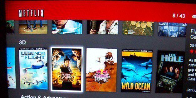 Netflix this week added 43 3D films to their instant streaming list:  -Kalahari Meerkats 3D -Alligator Kingdom -Animen Th
