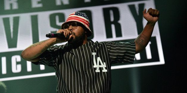 NEW YORK, NY - NOVEMBER 02:  Rapper Schoolboy Q performs onstage at Power 105.1's Powerhouse 2013, presented by Play GIG-IT,