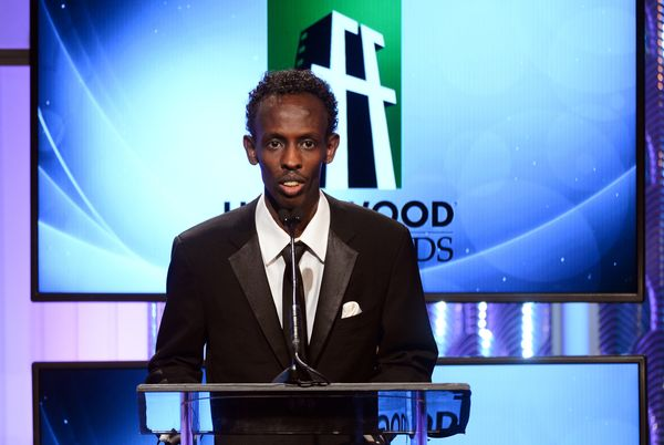 """<strong>2013:</strong> Abdi had never acted before he answered a casting call for Paul Greengrass' """"Captain Phillips."""" He spe"""