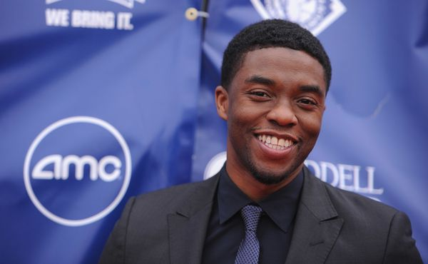 """<strong>2013:</strong> Following stints on NBC's """"Persons Unknown"""" and ABC Family's """"Lincoln Heights,"""" Boseman won raves for"""