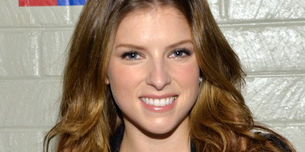 CULVER CITY, CA - JANUARY 28:  Actress Anna Kendrick attends Hollywood Stands Up To Cancer Event with contributors American C