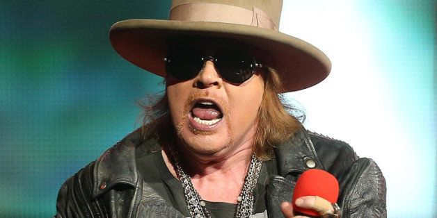 SYDNEY, AUSTRALIA - MARCH 12:  Axl Rose of Guns N' Roses performs live on stage at Allphones Arena on March 12, 2013 in Sydne