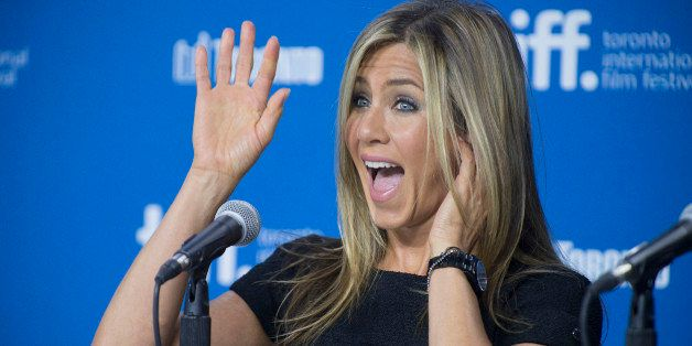 """Actress Jennifer Aniston attends the press conference for """"Life of Crime"""" on day 10 of the 2013 Toronto International Film Fe"""